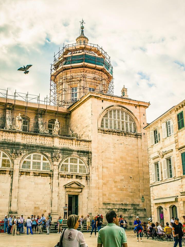 克罗地亚杜布罗夫尼克(Dubrovnik),寻游古城_图1-4
