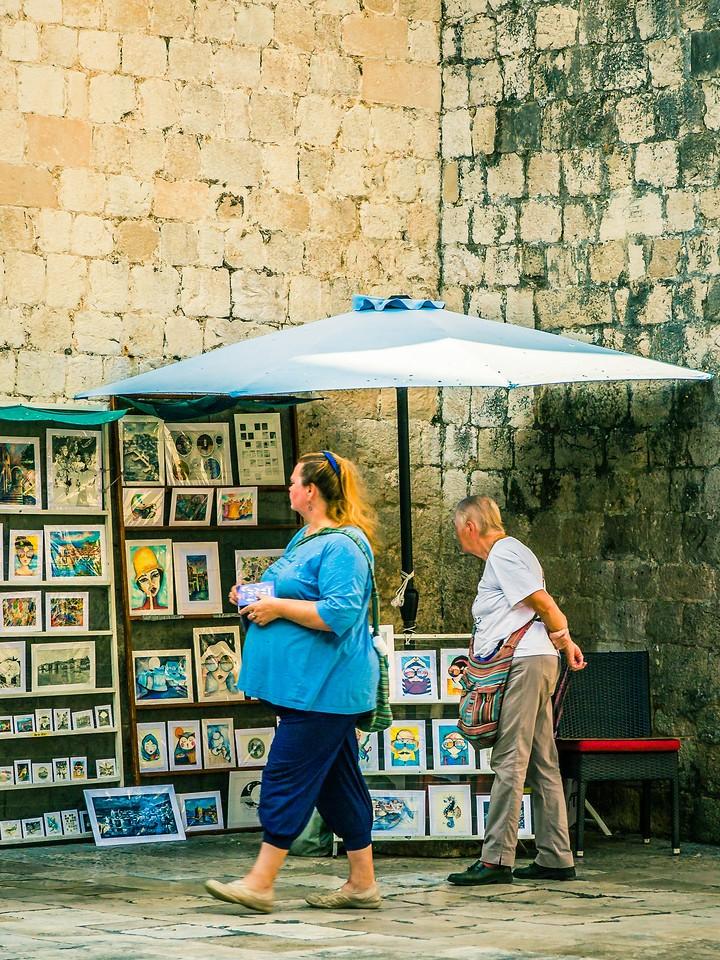 克罗地亚杜布罗夫尼克(Dubrovnik),寻游古城_图1-12