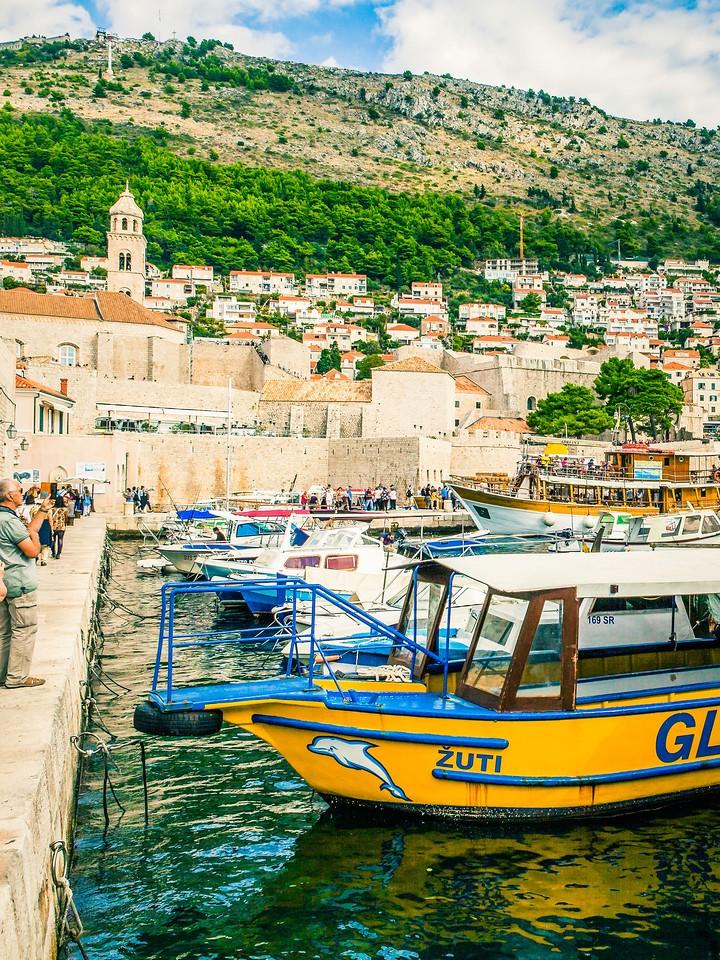 克罗地亚杜布罗夫尼克(Dubrovnik),寻游古城_图1-14