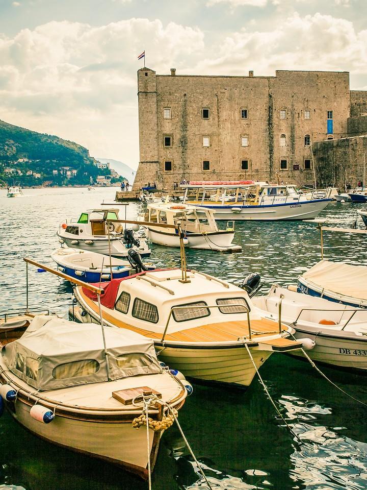 克罗地亚杜布罗夫尼克(Dubrovnik),寻游古城_图1-23
