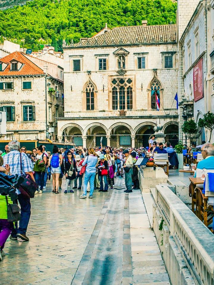 克罗地亚杜布罗夫尼克(Dubrovnik),寻游古城_图1-25