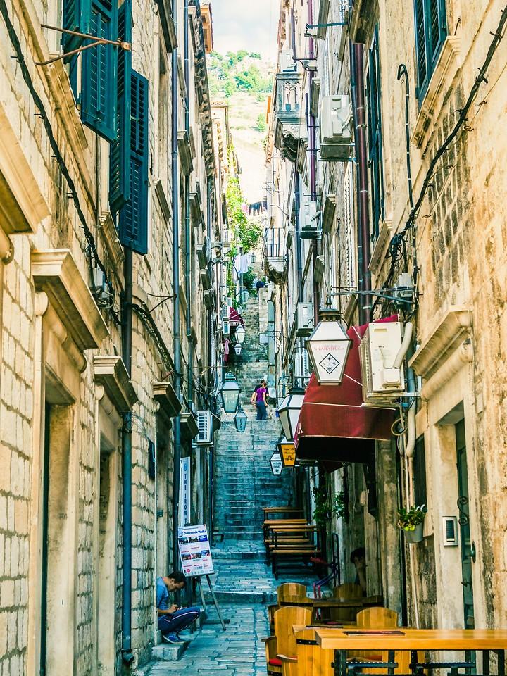 克罗地亚杜布罗夫尼克(Dubrovnik),寻游古城_图1-30