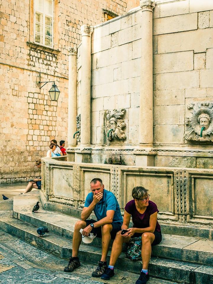 克罗地亚杜布罗夫尼克(Dubrovnik),寻游古城_图1-39