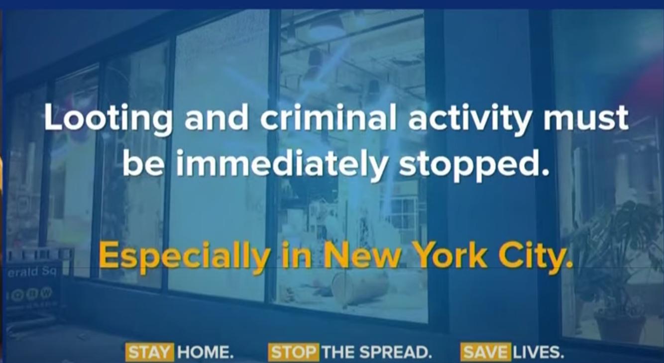 库莫强烈谴责纽约市长和警察不作为_图1-3