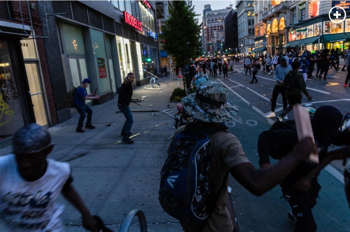库莫强烈谴责纽约市长和警察不作为_图1-6