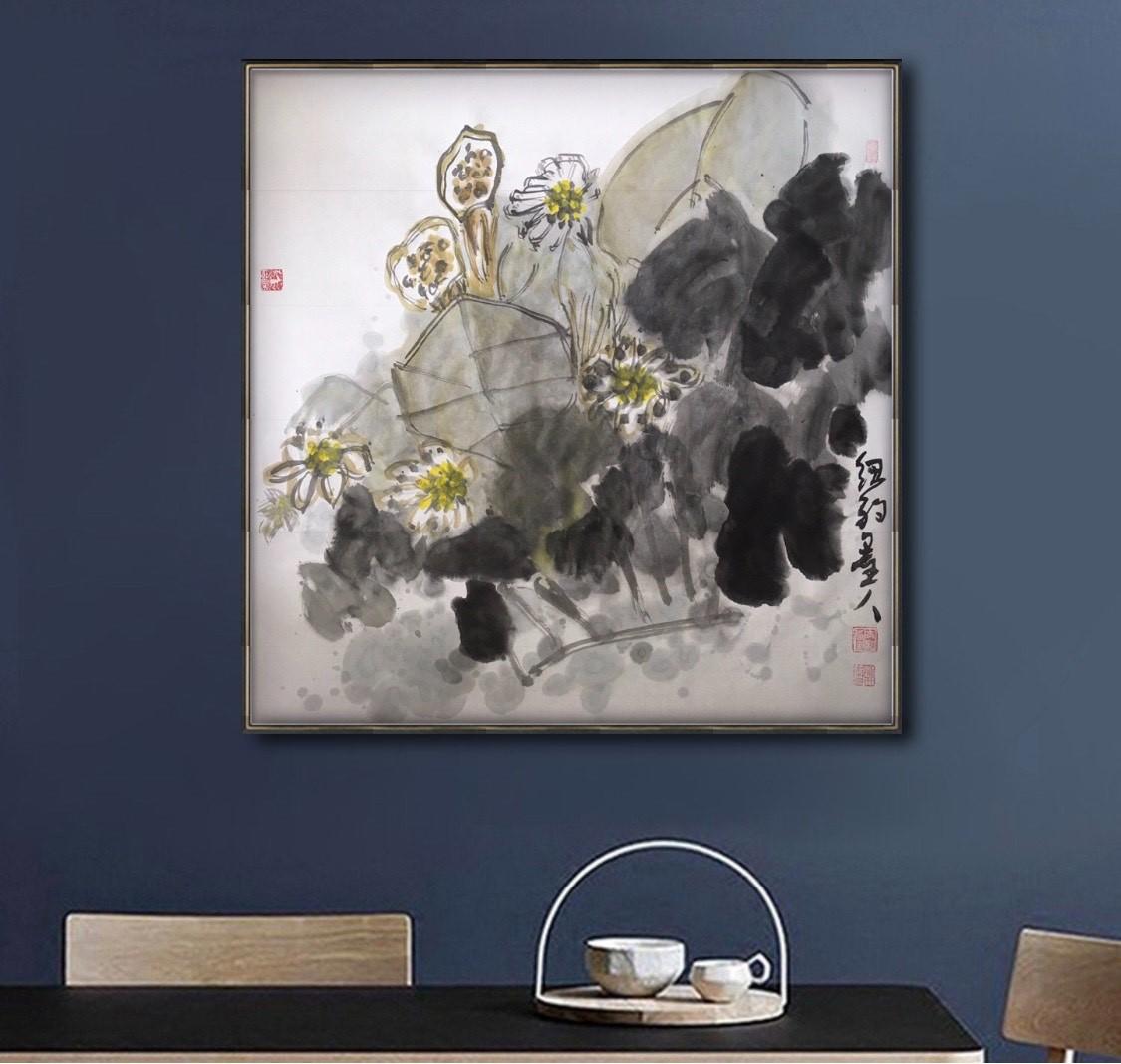 旅美画家李兆银纽约网络画展(九)_图1-2