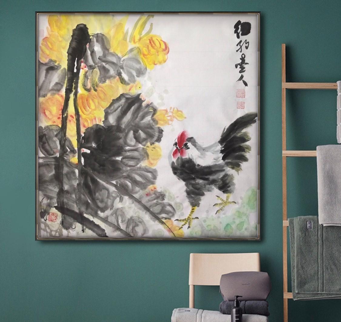 旅美画家李兆银纽约网络画展(九)_图1-4