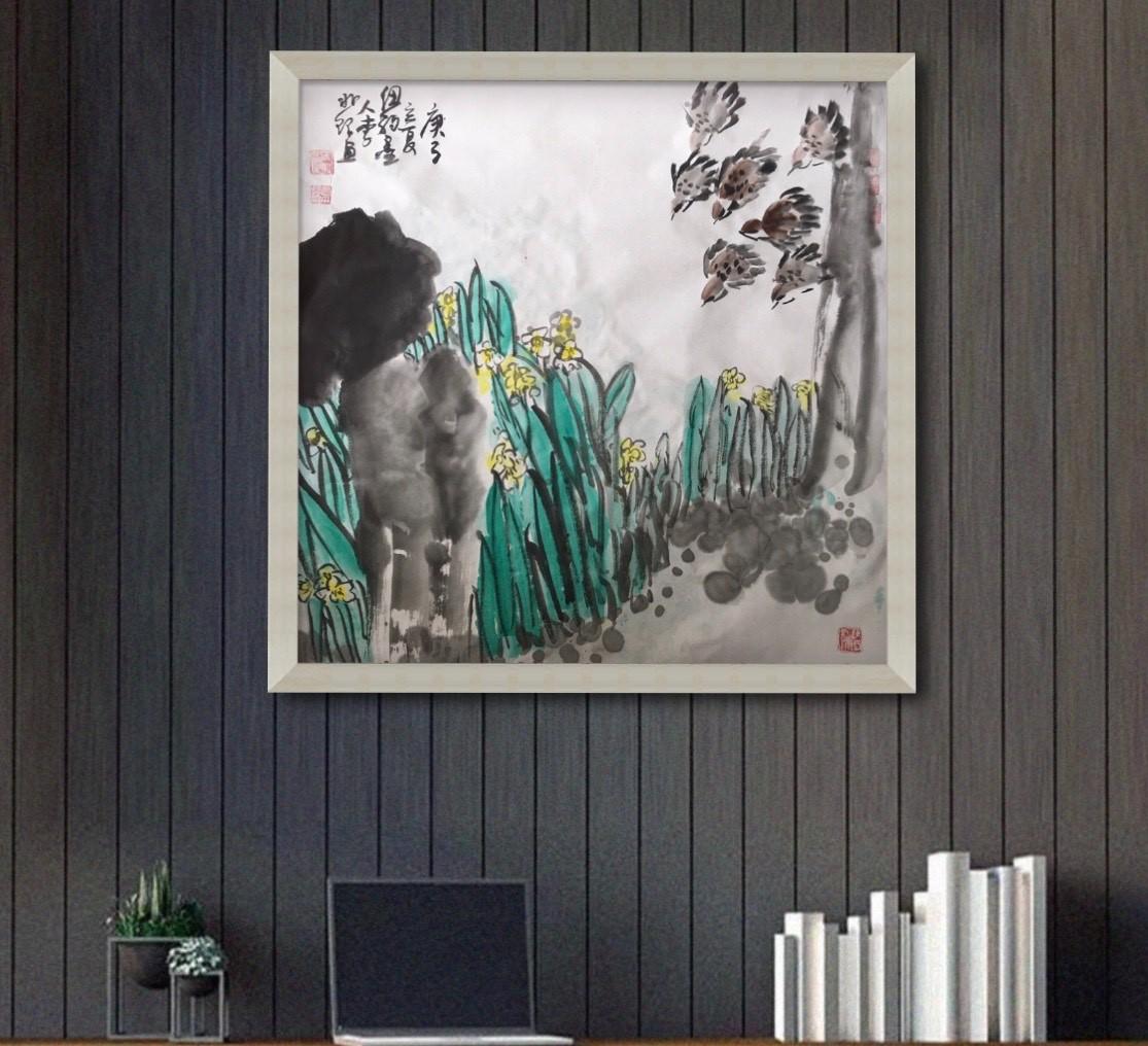 旅美画家李兆银纽约网络画展(九)_图1-7