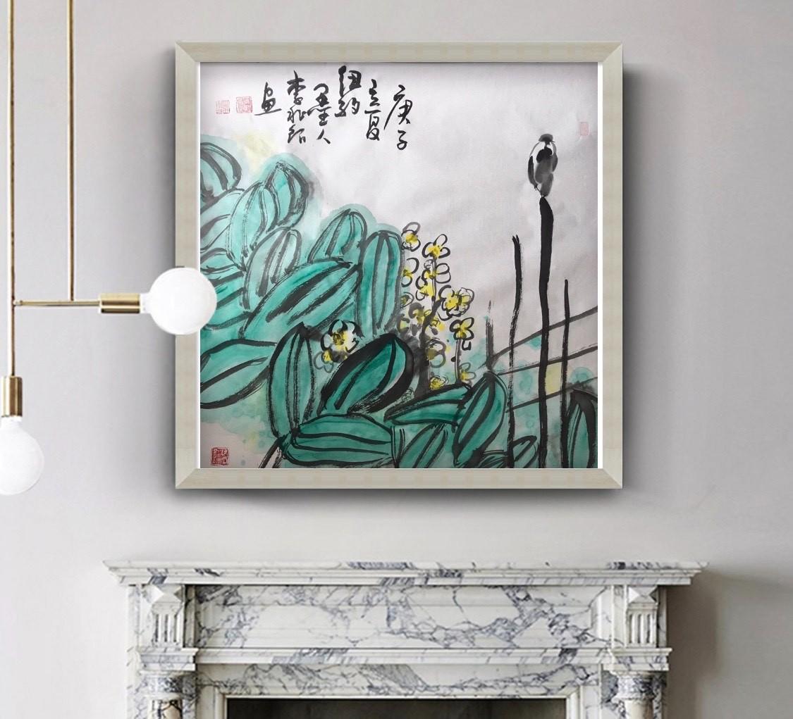 旅美画家李兆银纽约网络画展(九)_图1-8