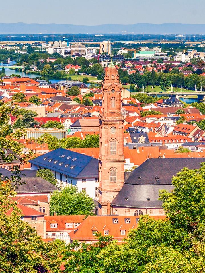 德国曼海姆(Mannheim),看建筑风格_图1-2