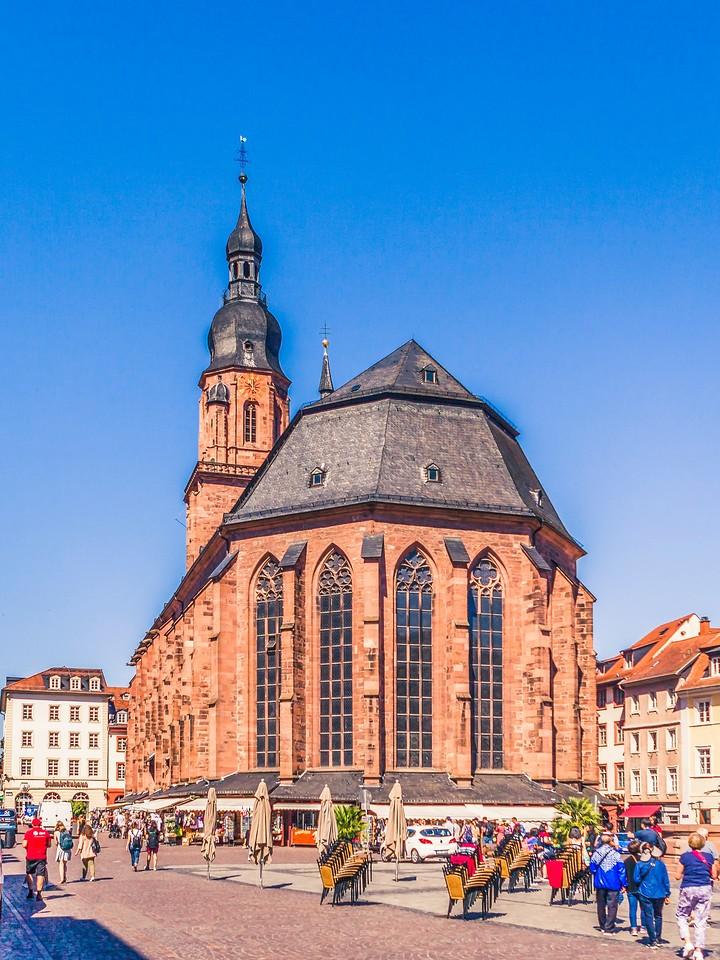 德国曼海姆(Mannheim),看建筑风格_图1-1