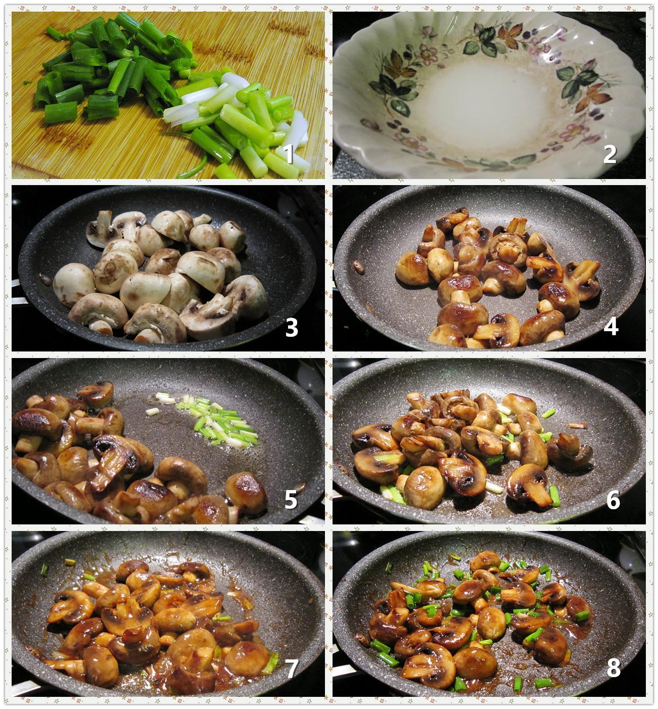 红烧汁烩蘑菇_图1-2