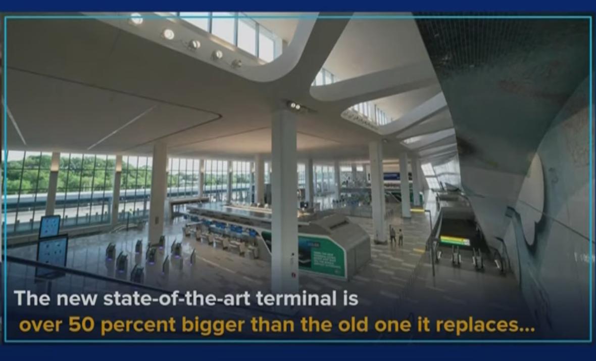 """""""拉瓜迪亚""""将建成美国最新最好机场_图1-6"""