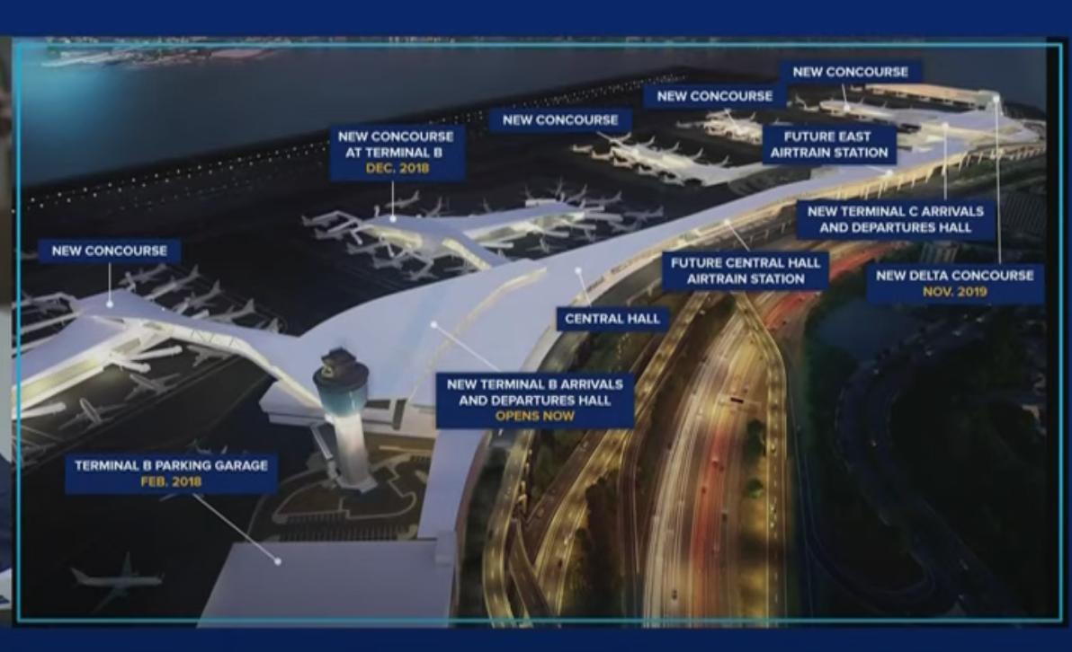 """""""拉瓜迪亚""""将建成美国最新最好机场_图1-5"""