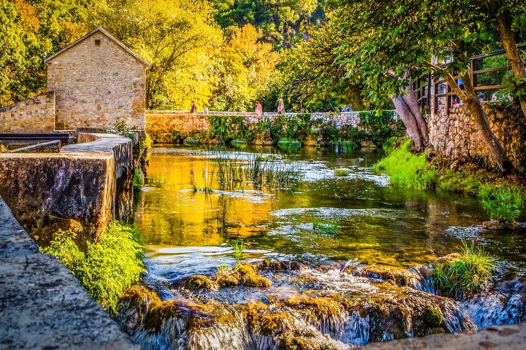克罗地亚克尔卡国家公园(Krka National Park),阳光里的故事_图1-26