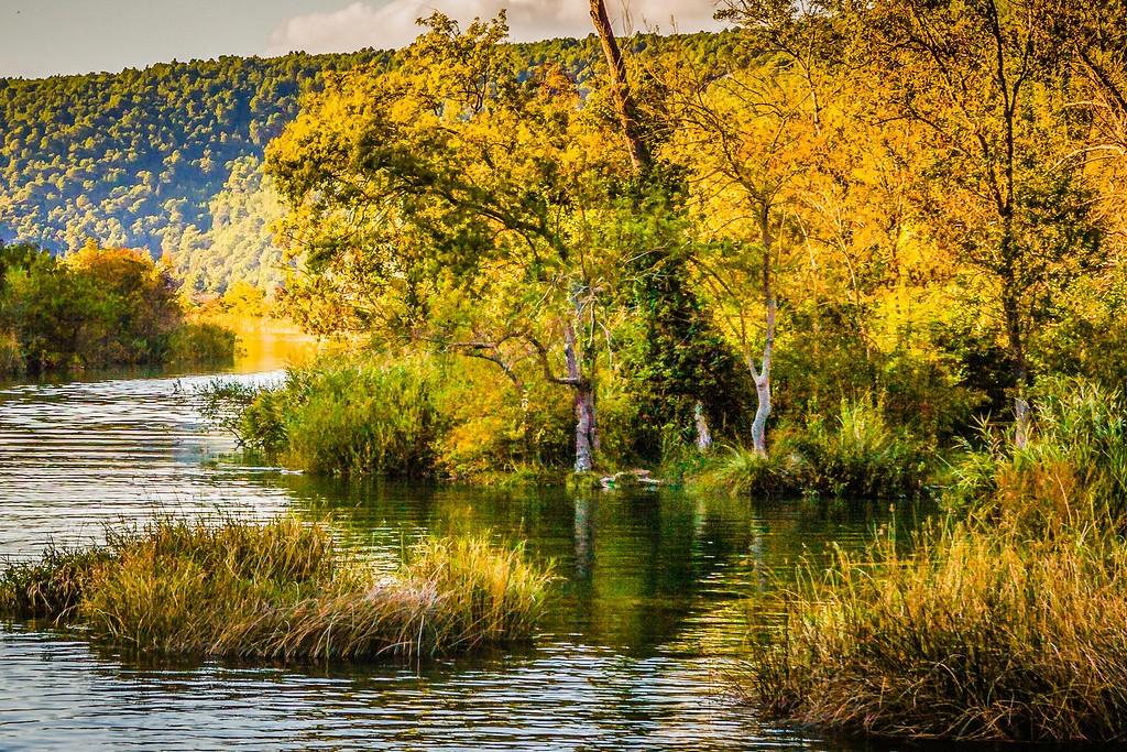 克罗地亚克尔卡国家公园(Krka National Park),阳光里的故事_图1-33