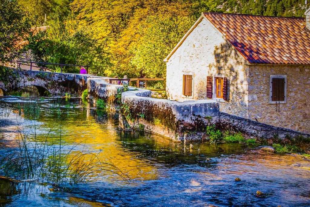 克罗地亚克尔卡国家公园(Krka National Park),阳光里的故事_图1-2
