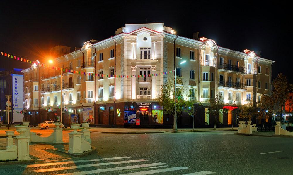 夜间的格罗兹尼市_图1-16