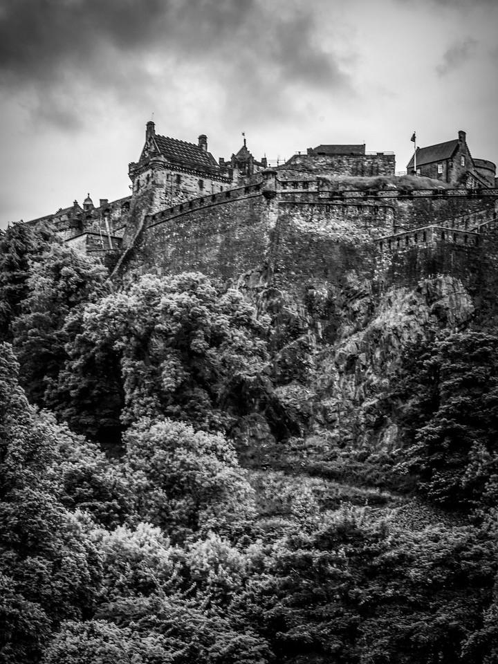 苏格兰爱丁堡城堡(Edinburgh Castle),城市制高点_图1-34