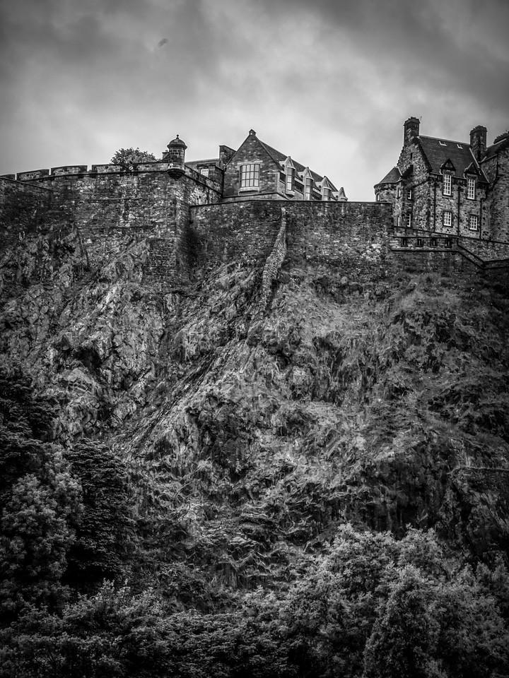 苏格兰爱丁堡城堡(Edinburgh Castle),城市制高点_图1-35