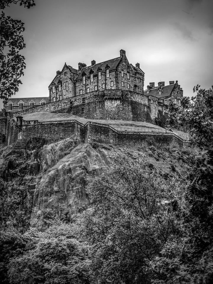 苏格兰爱丁堡城堡(Edinburgh Castle),城市制高点_图1-29