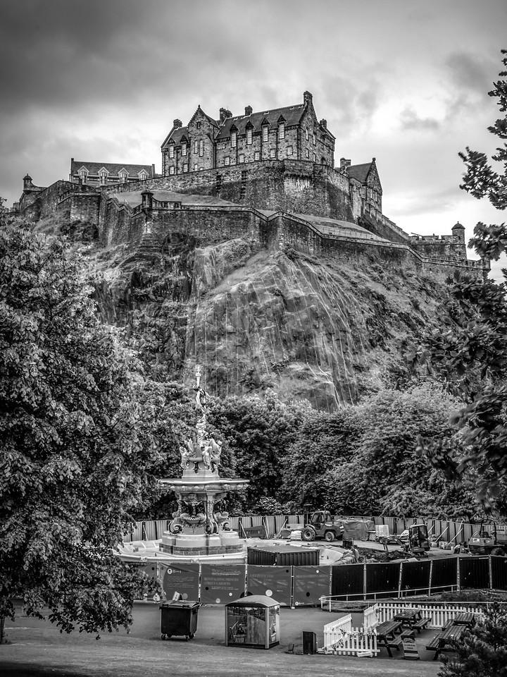 苏格兰爱丁堡城堡(Edinburgh Castle),城市制高点_图1-31