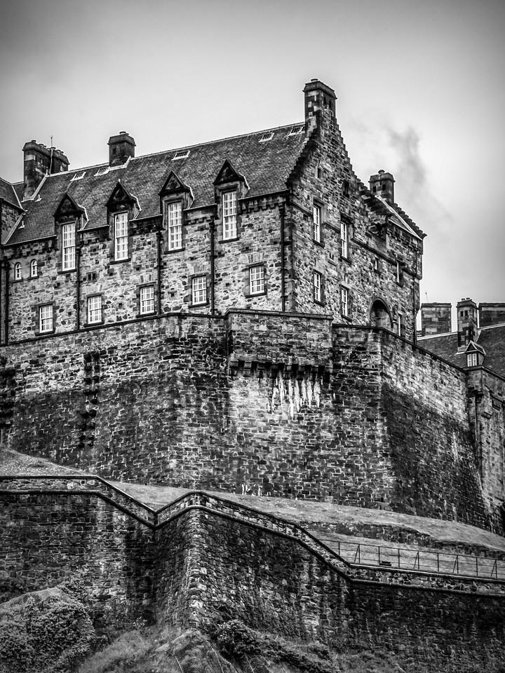 苏格兰爱丁堡城堡(Edinburgh Castle),城市制高点_图1-33