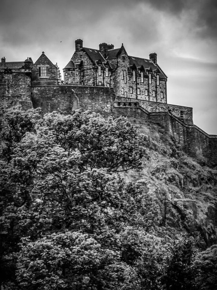苏格兰爱丁堡城堡(Edinburgh Castle),城市制高点_图1-32