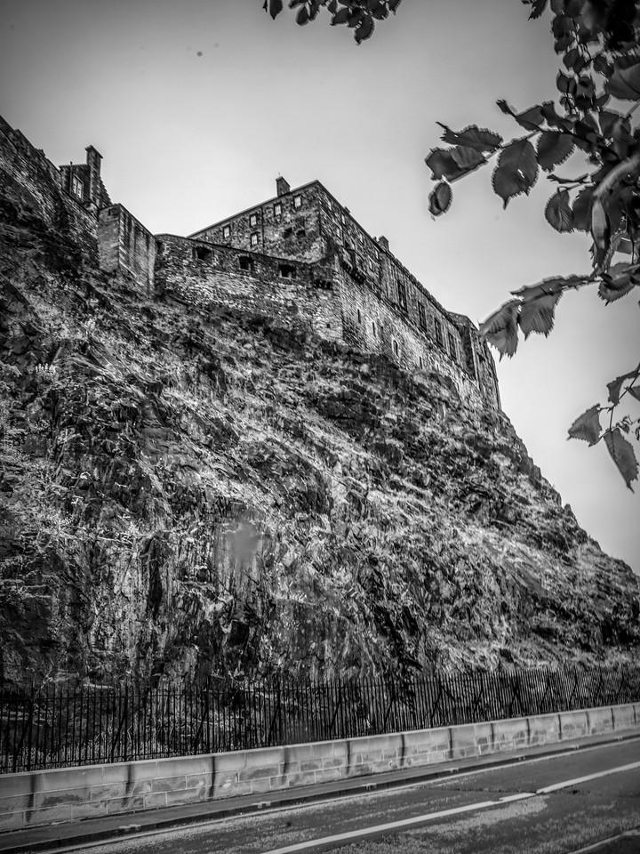 苏格兰爱丁堡城堡(Edinburgh Castle),城市制高点_图1-30