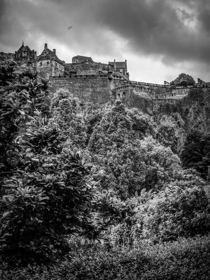 苏格兰爱丁堡城堡(Edinburgh Castle),城市制高点_图1-27