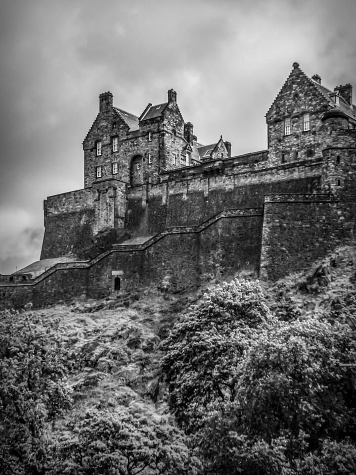 苏格兰爱丁堡城堡(Edinburgh Castle),城市制高点_图1-26
