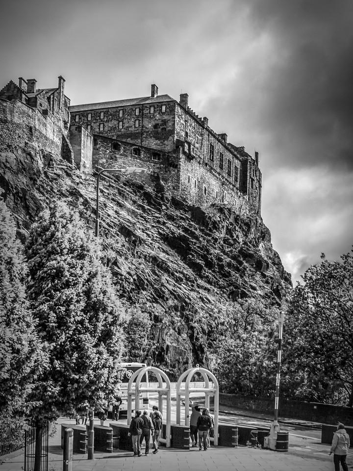 苏格兰爱丁堡城堡(Edinburgh Castle),城市制高点_图1-25