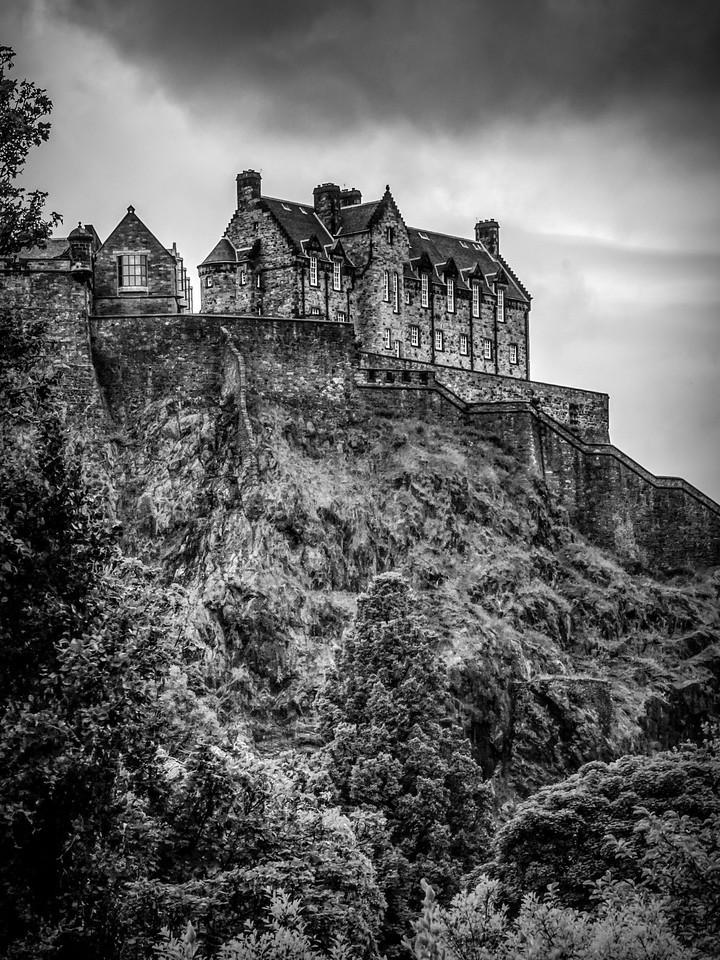 苏格兰爱丁堡城堡(Edinburgh Castle),城市制高点_图1-3