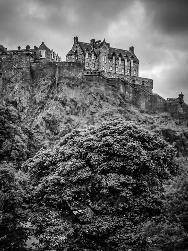 苏格兰爱丁堡城堡(Edinburgh Castle),城市制高点_图1-4