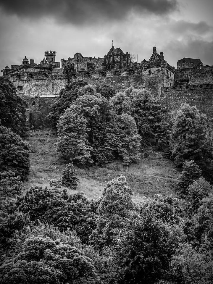 苏格兰爱丁堡城堡(Edinburgh Castle),城市制高点_图1-5