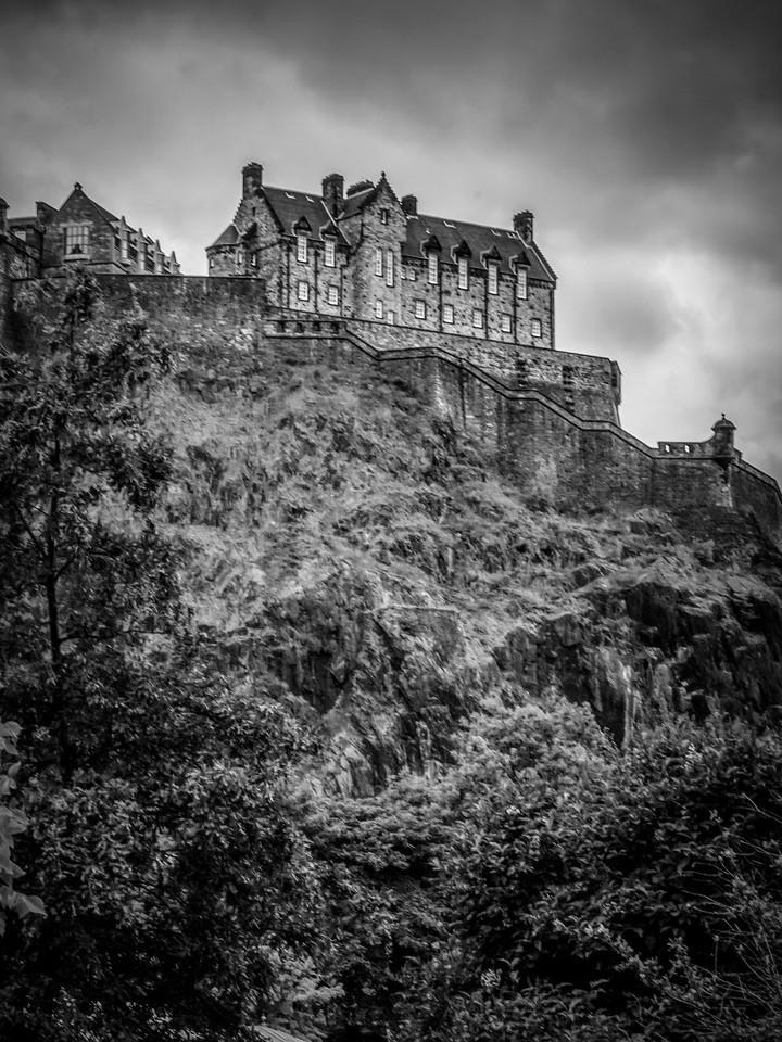 苏格兰爱丁堡城堡(Edinburgh Castle),城市制高点_图1-6