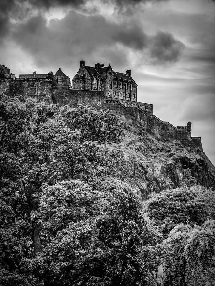 苏格兰爱丁堡城堡(Edinburgh Castle),城市制高点_图1-7