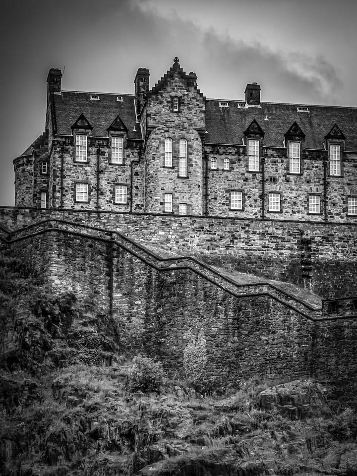 苏格兰爱丁堡城堡(Edinburgh Castle),城市制高点_图1-12