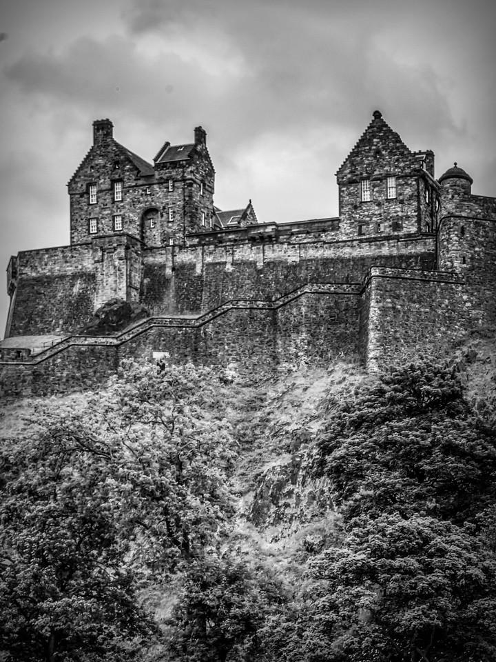 苏格兰爱丁堡城堡(Edinburgh Castle),城市制高点_图1-11