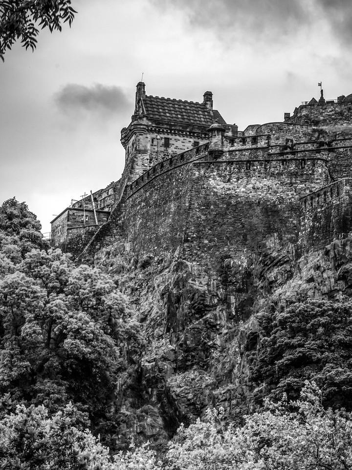 苏格兰爱丁堡城堡(Edinburgh Castle),城市制高点_图1-10