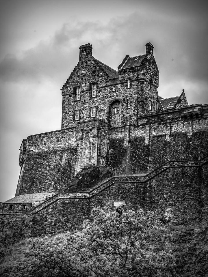 苏格兰爱丁堡城堡(Edinburgh Castle),城市制高点_图1-13