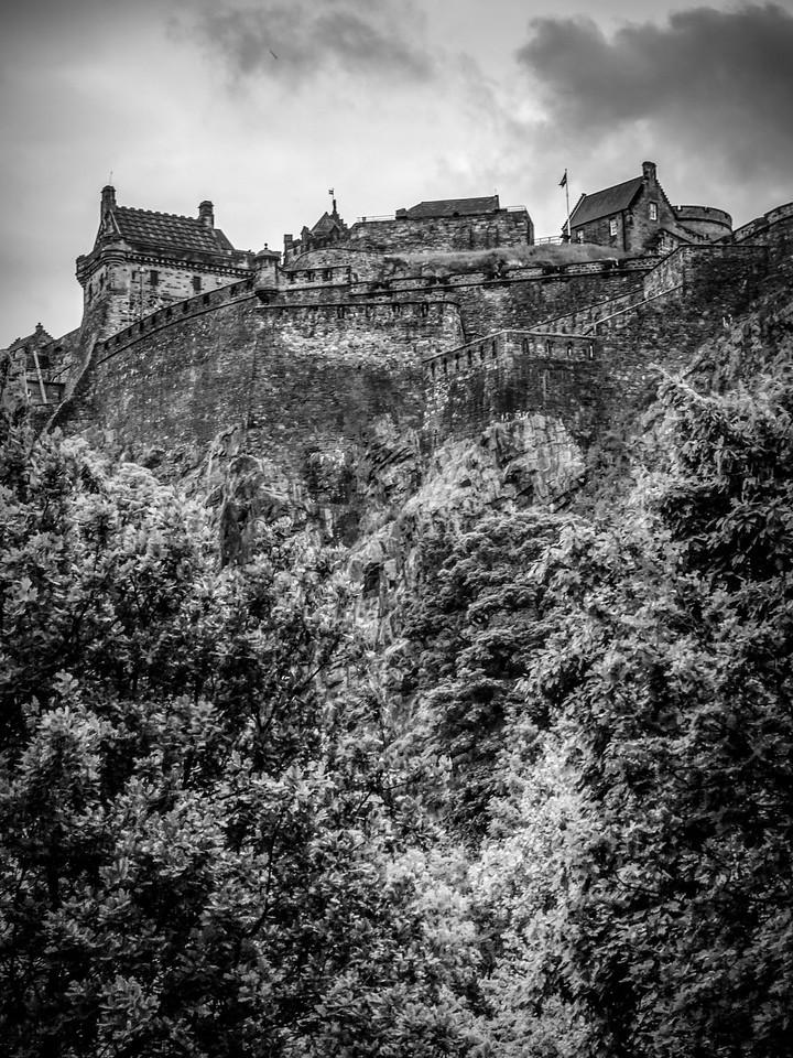 苏格兰爱丁堡城堡(Edinburgh Castle),城市制高点_图1-14