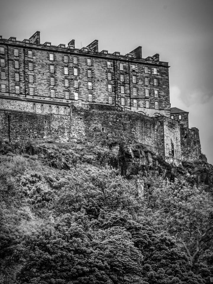 苏格兰爱丁堡城堡(Edinburgh Castle),城市制高点_图1-15