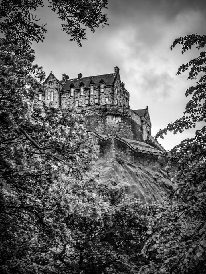 苏格兰爱丁堡城堡(Edinburgh Castle),城市制高点_图1-16