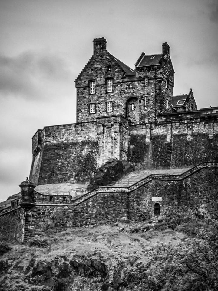 苏格兰爱丁堡城堡(Edinburgh Castle),城市制高点_图1-20