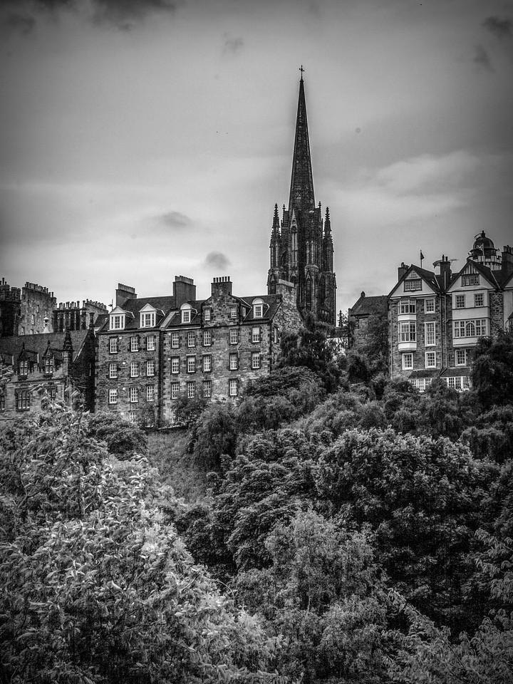 苏格兰爱丁堡城堡(Edinburgh Castle),城市制高点_图1-19