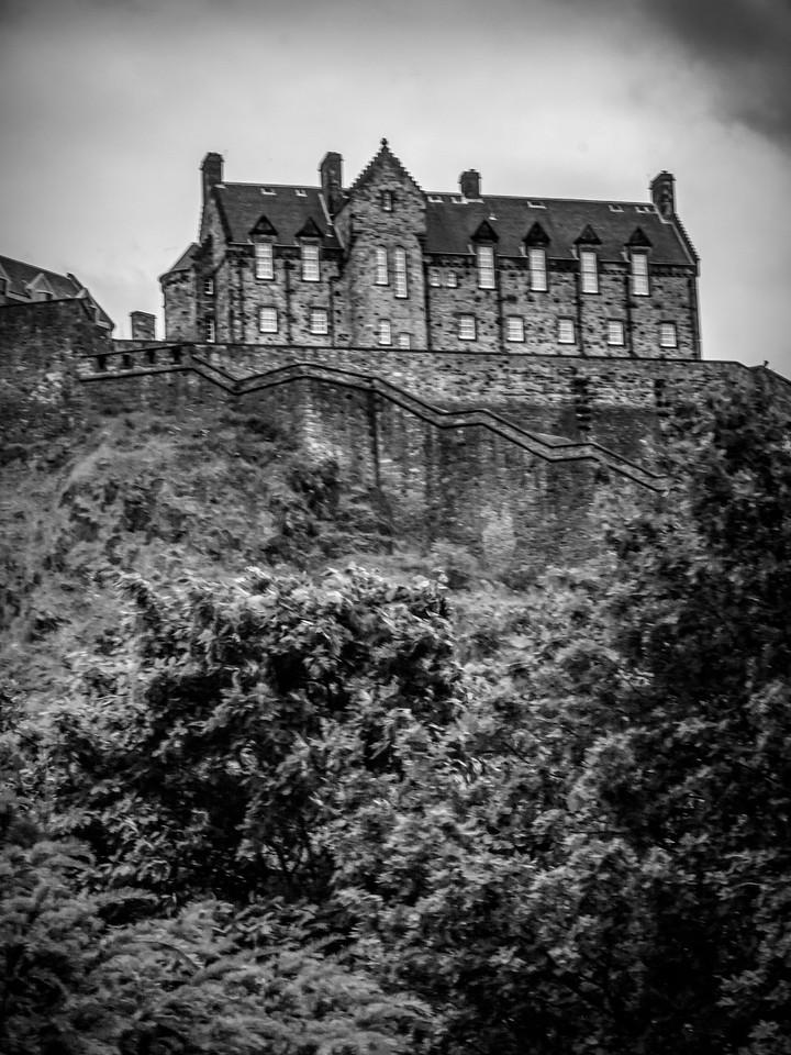 苏格兰爱丁堡城堡(Edinburgh Castle),城市制高点_图1-18