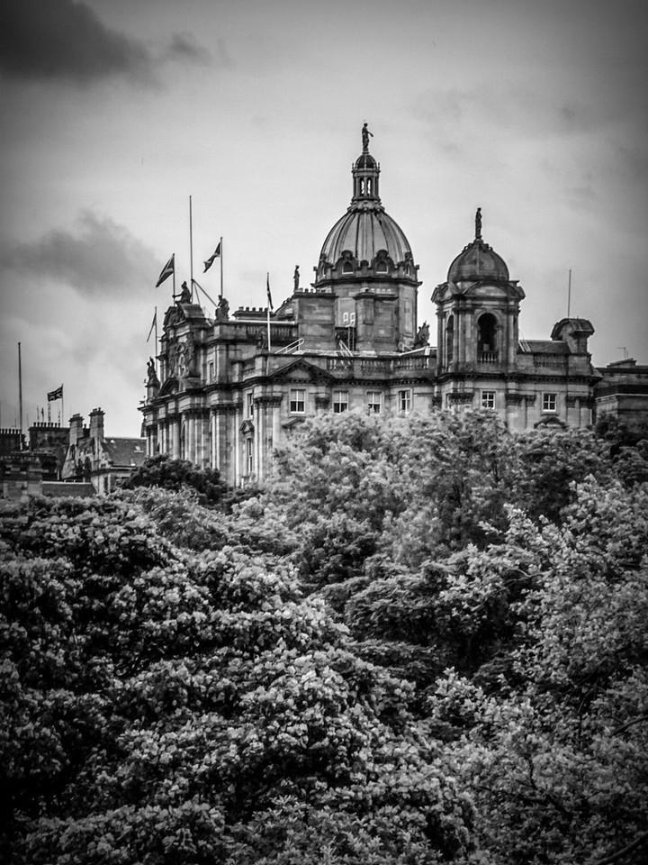 苏格兰爱丁堡城堡(Edinburgh Castle),城市制高点_图1-21
