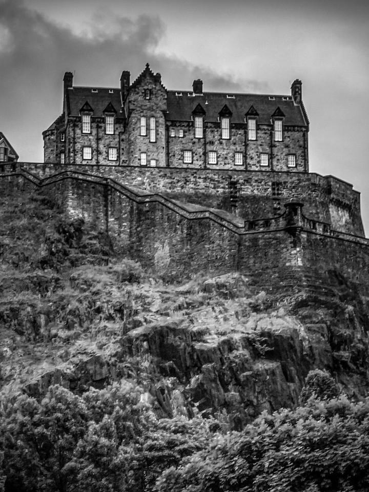 苏格兰爱丁堡城堡(Edinburgh Castle),城市制高点_图1-23