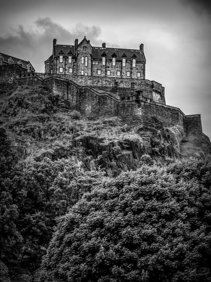 苏格兰爱丁堡城堡(Edinburgh Castle),城市制高点_图1-24